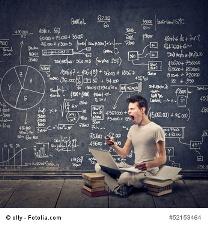 locker entspannen bei Mathematik